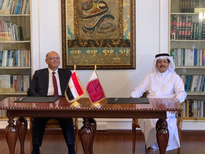 بيان صحفي عقدت لجنة المتابعة المصرية القطرية اجتماعًا اليوم ١٤ سبتمبر 2021 في مدينة الدوحة برئاسة السفير 97749