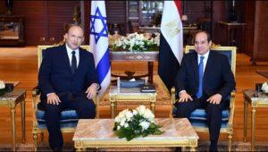 الرئيس عبد الفتاح السيسي يستقبل رئيس الوزراء الإسرائيلي