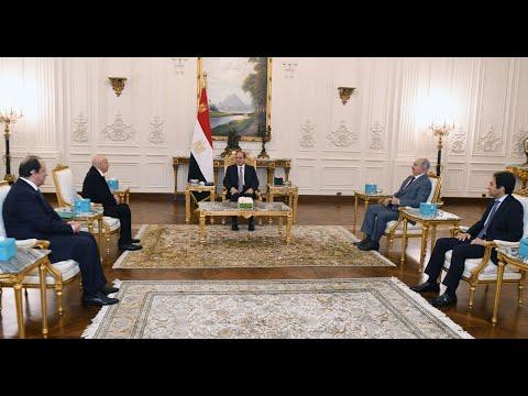السيد الرئيس يستقبل رئيس مجلس النواب والقائد العام للقوات المسلحة الليبية hqdefau 119