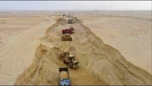 حفر فرع جديد للنيل فى الصحراء الدلتا الجديدة