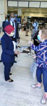 بيان صادر عن وزارة الطيران المدني: مطار أبو سمبل يستقبل ضيوف مصر المشاركين في احتفالية تعامد الشمس على وجه 32232
