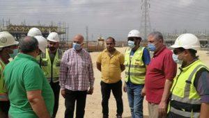 بيان صادر عن وزارة الإسكان والمرافق والمجتمعات العمرانية:  مسئولو جهاز العاشر من رمضان يتفقدون الأعمال