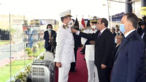 حضور السيد الرئيس عبد الفتاح السيسي صباح اليوم حفل تخرج دفعة جديدة من طلاب كلية الشرطة