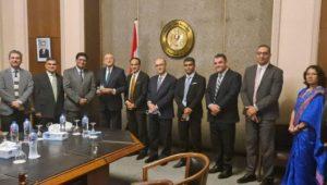 بنجلاديش تعتزم إقامة أول سفارة أجنبية في العاصمة الإدارية الجديدة  استضافت وزارة الخارجية يوم 20