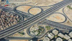 بيان صادر عن وزارة النقل:  وزير النقل في مواقع العمل بمشروع التطوير الشامل للطريق الدائري حول القاهرة